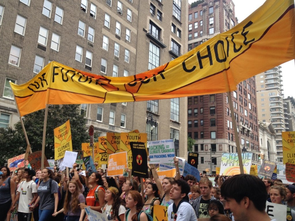 EEI At The People's Climate March In NYC