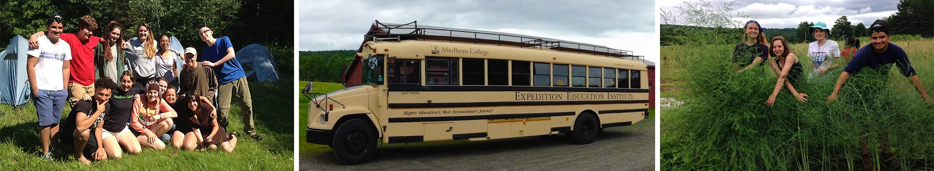 Expedition Education Institute - on the bus